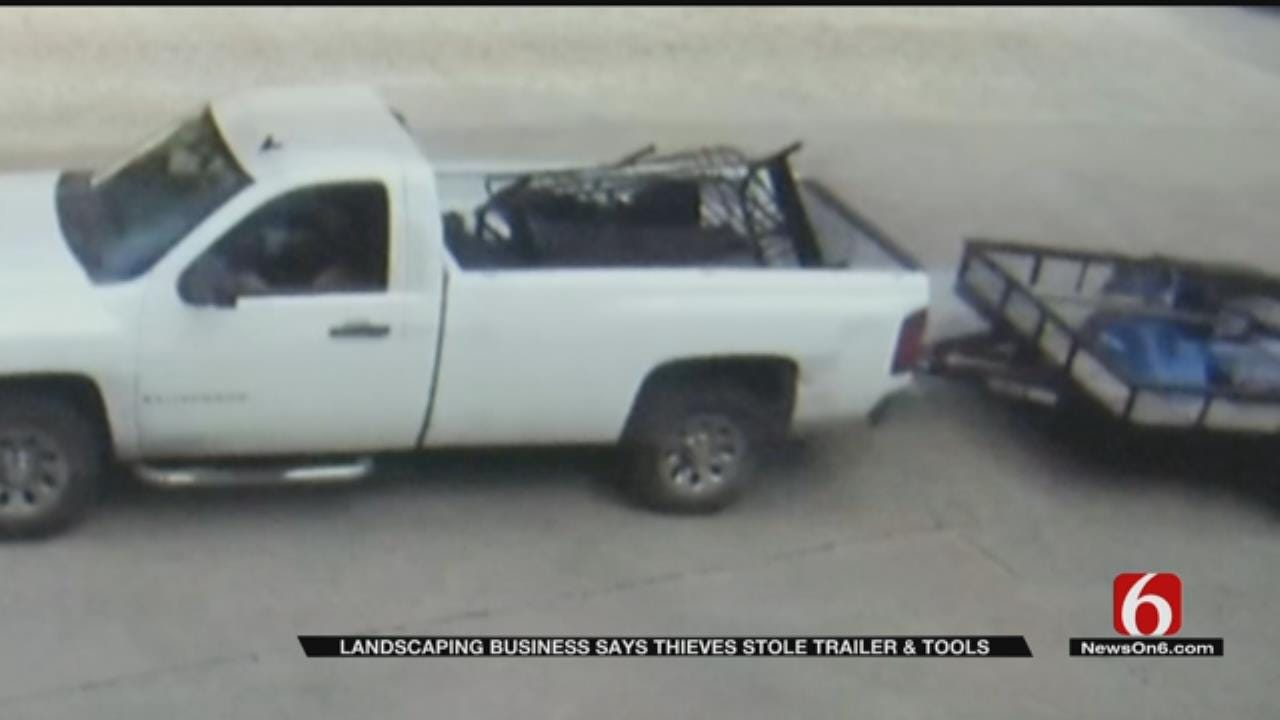 Sand Springs Businessman Loses Trailer To Thieves