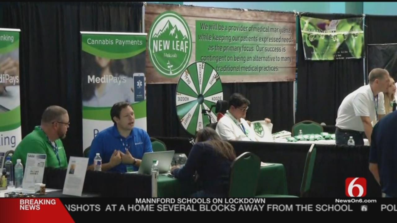 First Medical Marijuana Expo Underway In Tulsa