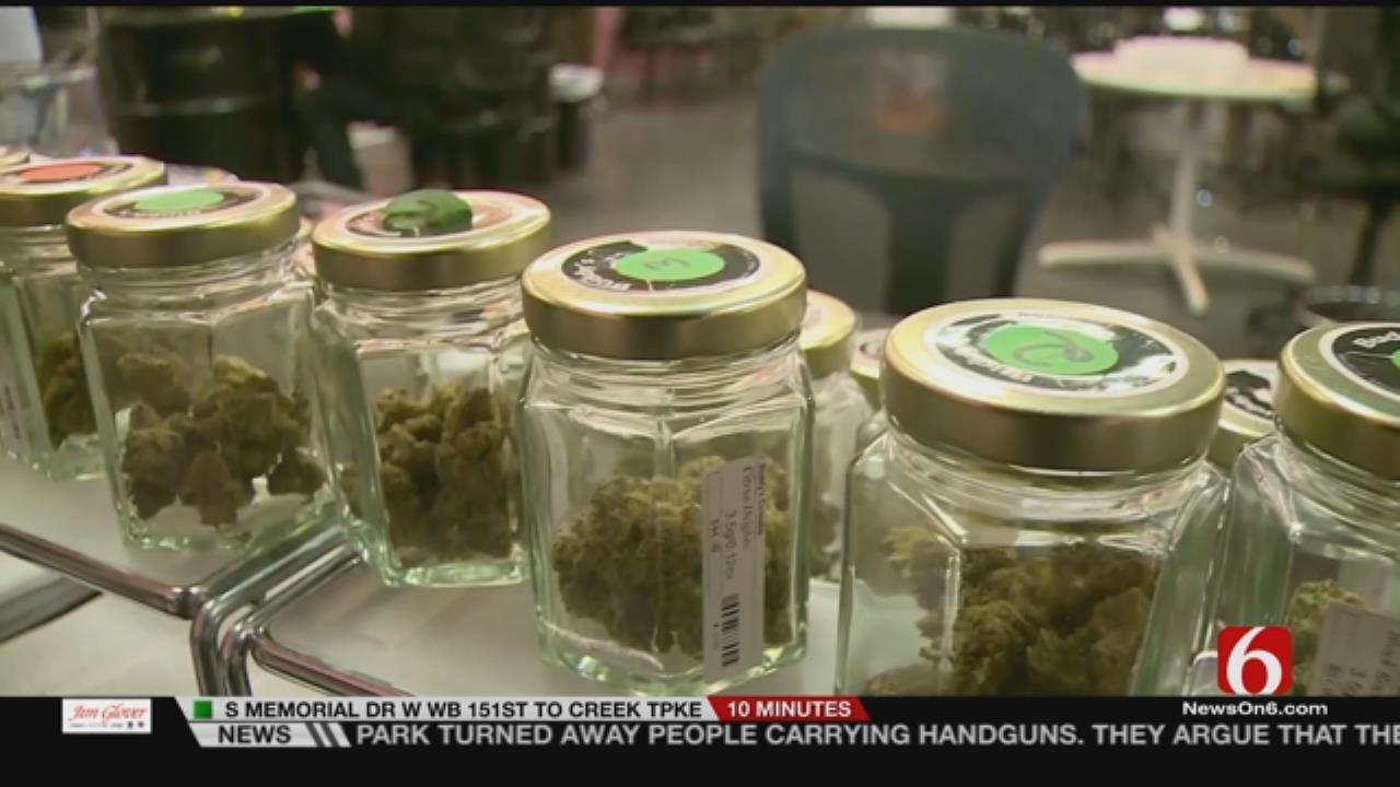 Medical Marijuana Business Expo Held In Greenwood District