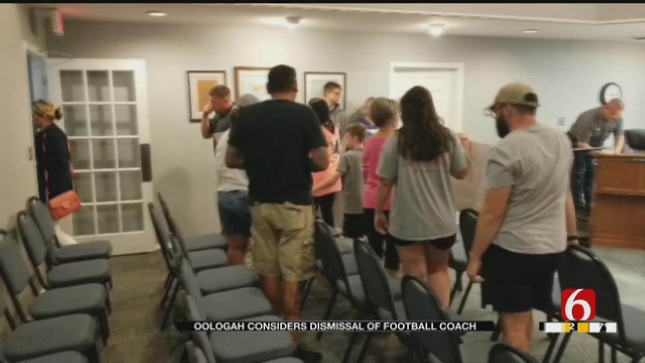 Oologah-Talala School Board Meets To Discuss Dismissal Of Football Coach