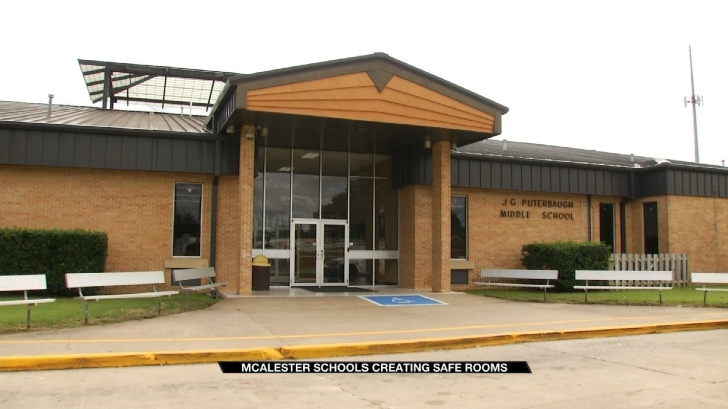 McAlester Middle School Using Million Dollar Grant To Build Safe Rooms
