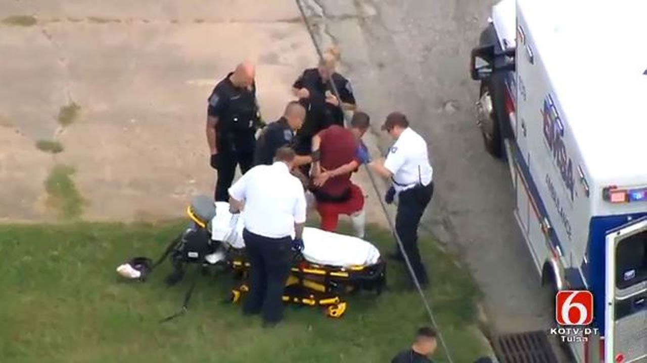 Chase Leads To Arrest Of Suspect In Tulsa Convenience Store Robbery