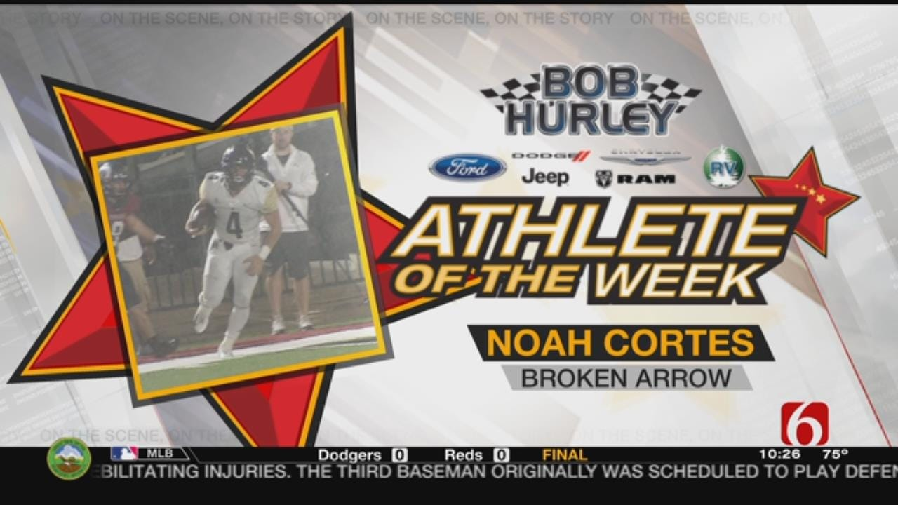 Week 2 Athlete Of The Week: Broken Arrow's Noah Cortes