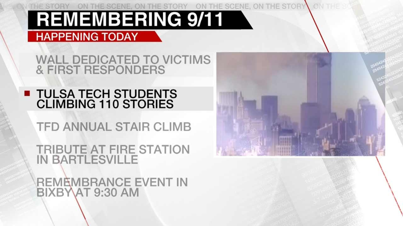 9/11 Tributes Being Held Across Green Country