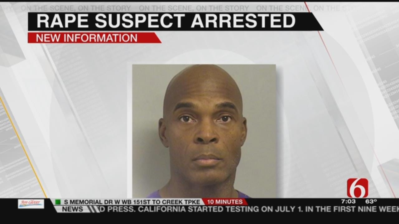 Rape Suspect Returned To Oklahoma After Arrest In Texas