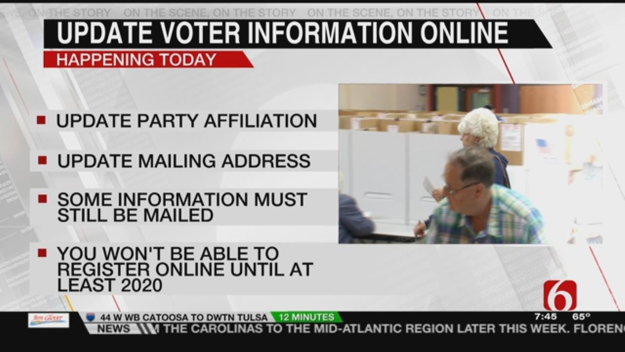 Oklahomans Can Now Update Some Voting Information Online
