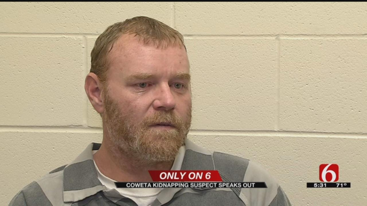 Coweta Kidnapping Suspect Shares His Side