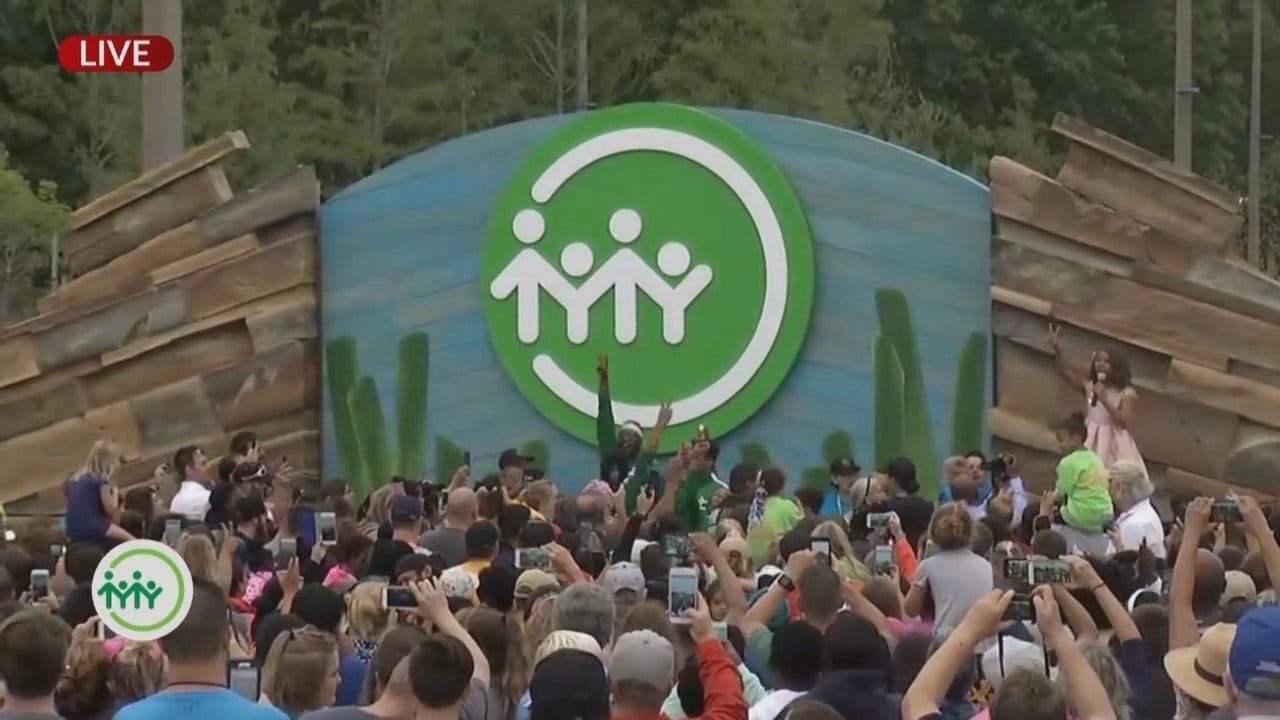 Tulsa Gathering Place Officially Opens Gates