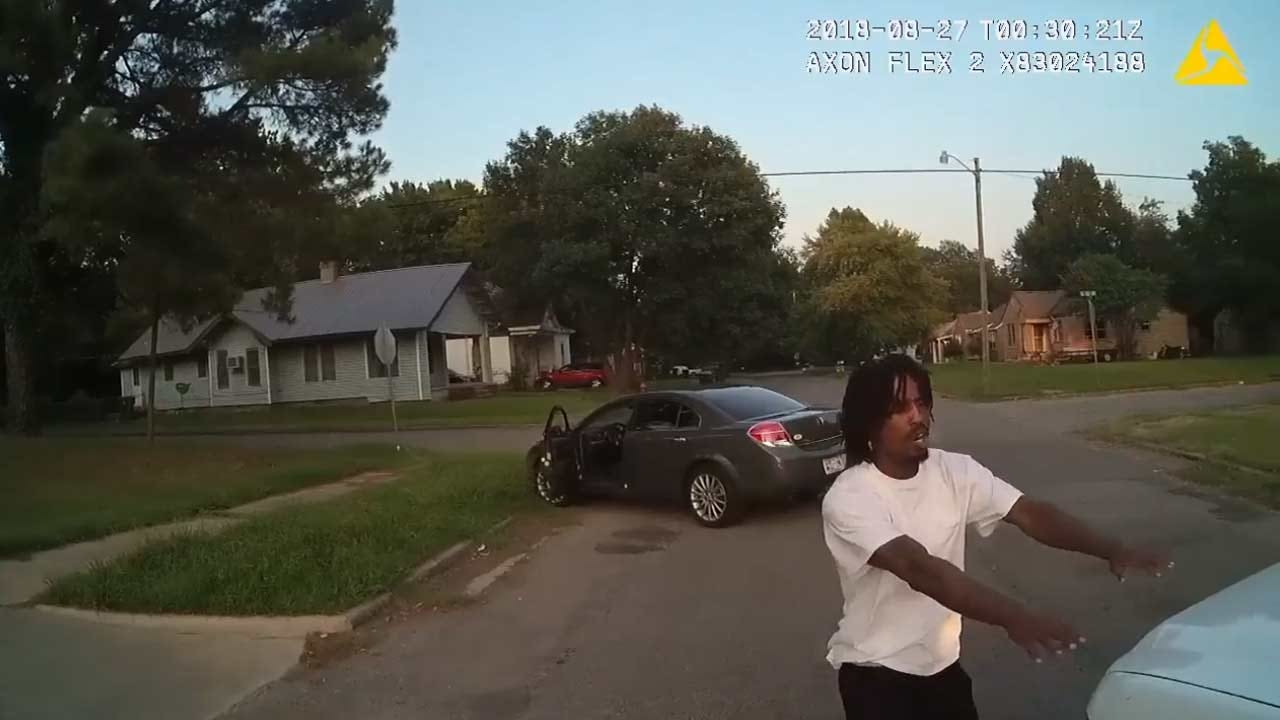 Muskogee Police Release Body Camera Video Of Traffic Stop, Chase