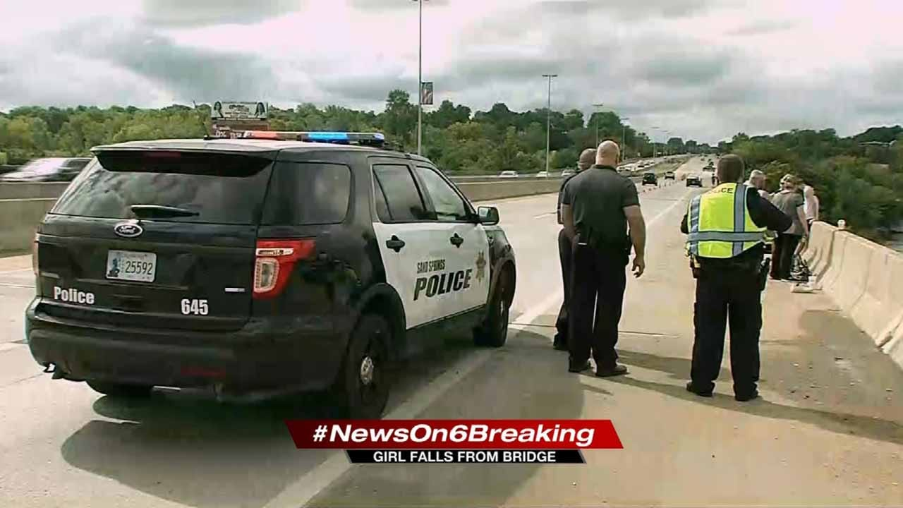 Girl Rescued After Going Over Highway 97 Bridge Into Arkansas River