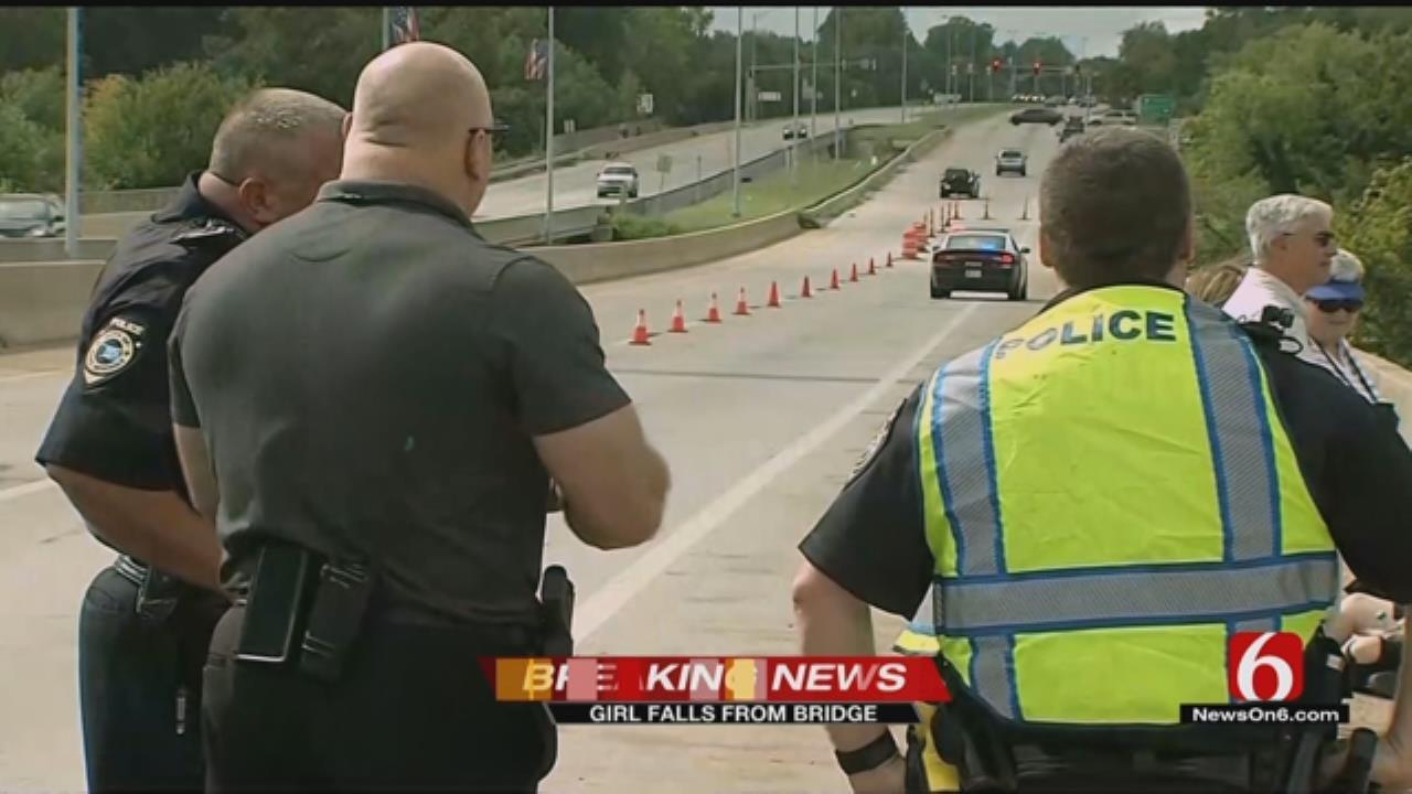 Emory Bryan: Girl Rescued After Falling Off Highway 97 Bridge