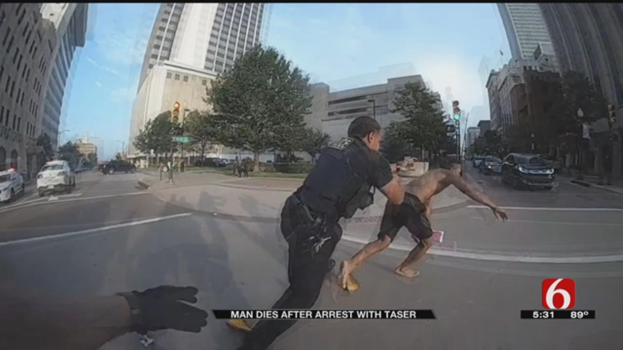 TPD Releases Video Of Man Being Tased