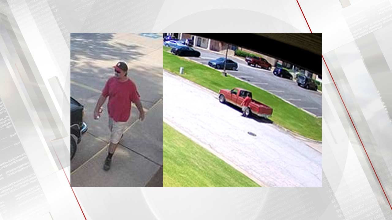 Tulsa Police Looking For Person Of Interest In Stolen Truck Case