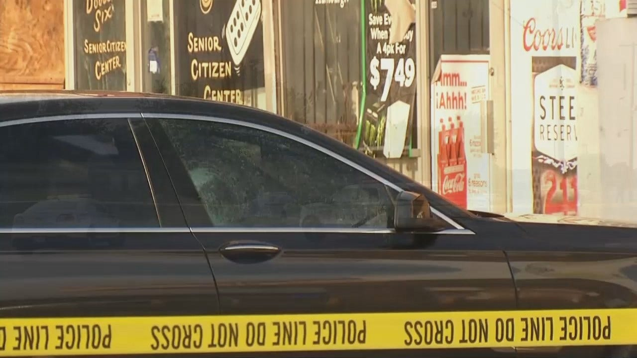 WEB EXTRA: Video From Scene Of Tulsa Shooting