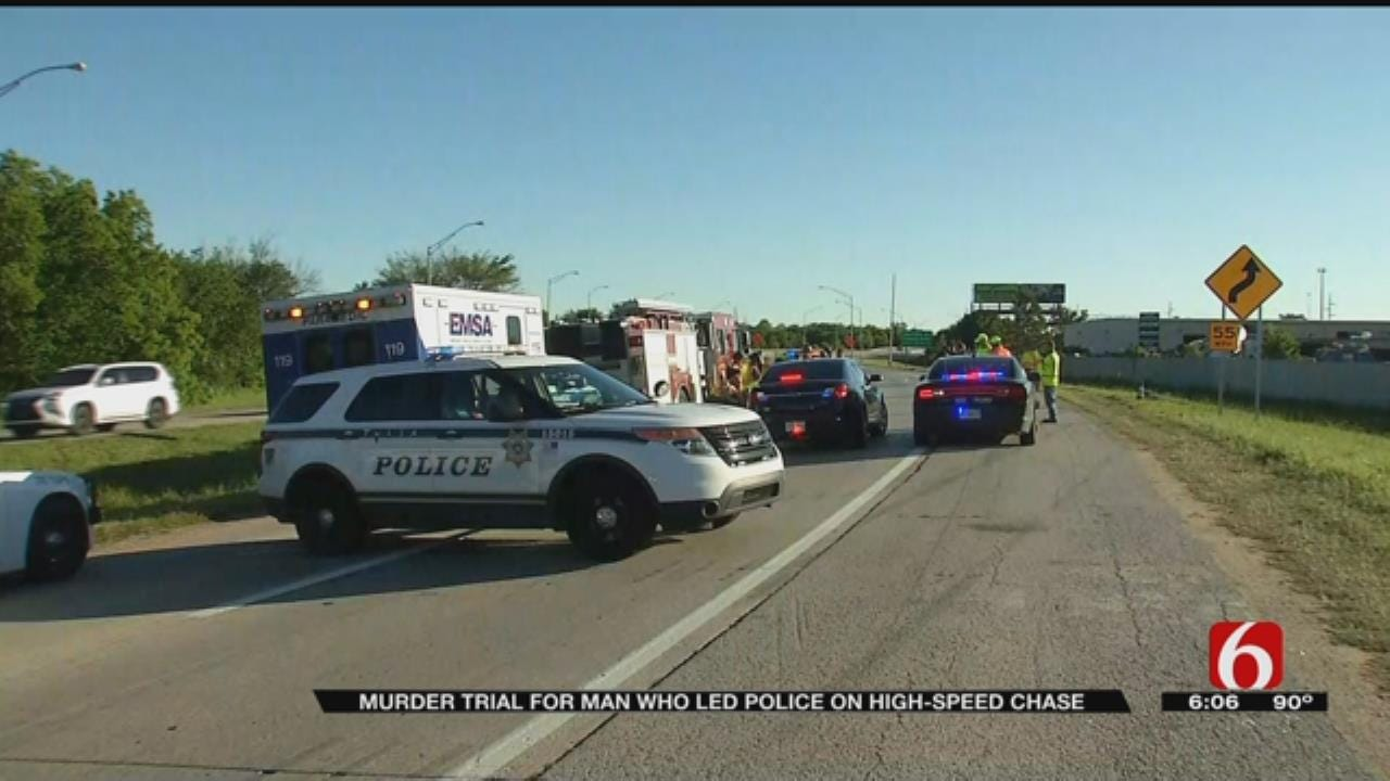 Trial Begins For Tulsa Man Charged With Murder After Chase Ends With Deadly Crash