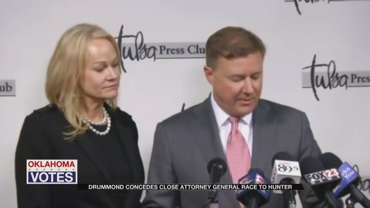 Gentner Drummond Concedes Race For Oklahoma Attorney General