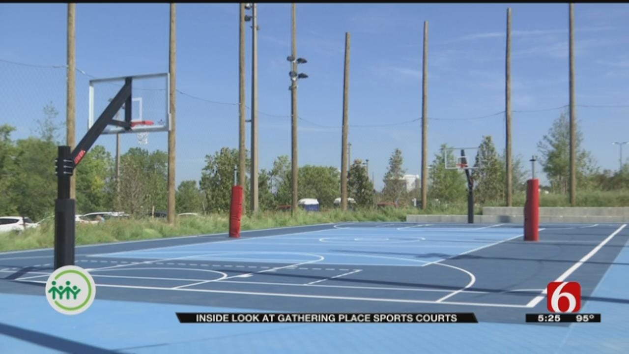 Gathering Place Sneak Peak: Sports Courts