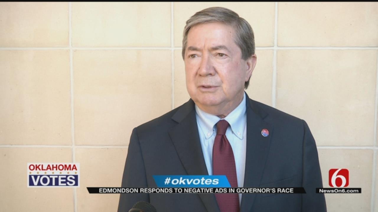 Edmondson Hopes To Avoid Negative Ads For Fall Gubernatorial Race
