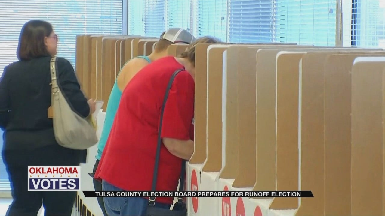 Tulsa County Election Board Preparing For Another High Voter Turnout