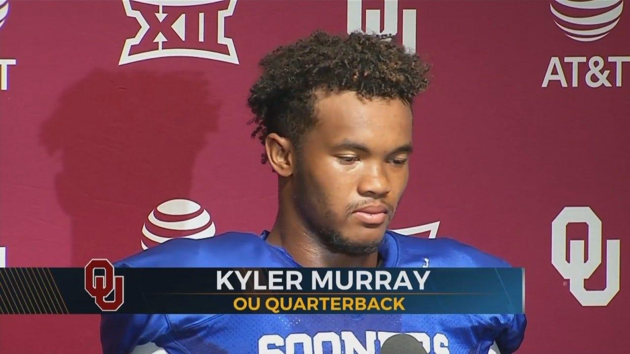 Kyler Murray is Named Starting QB For OU