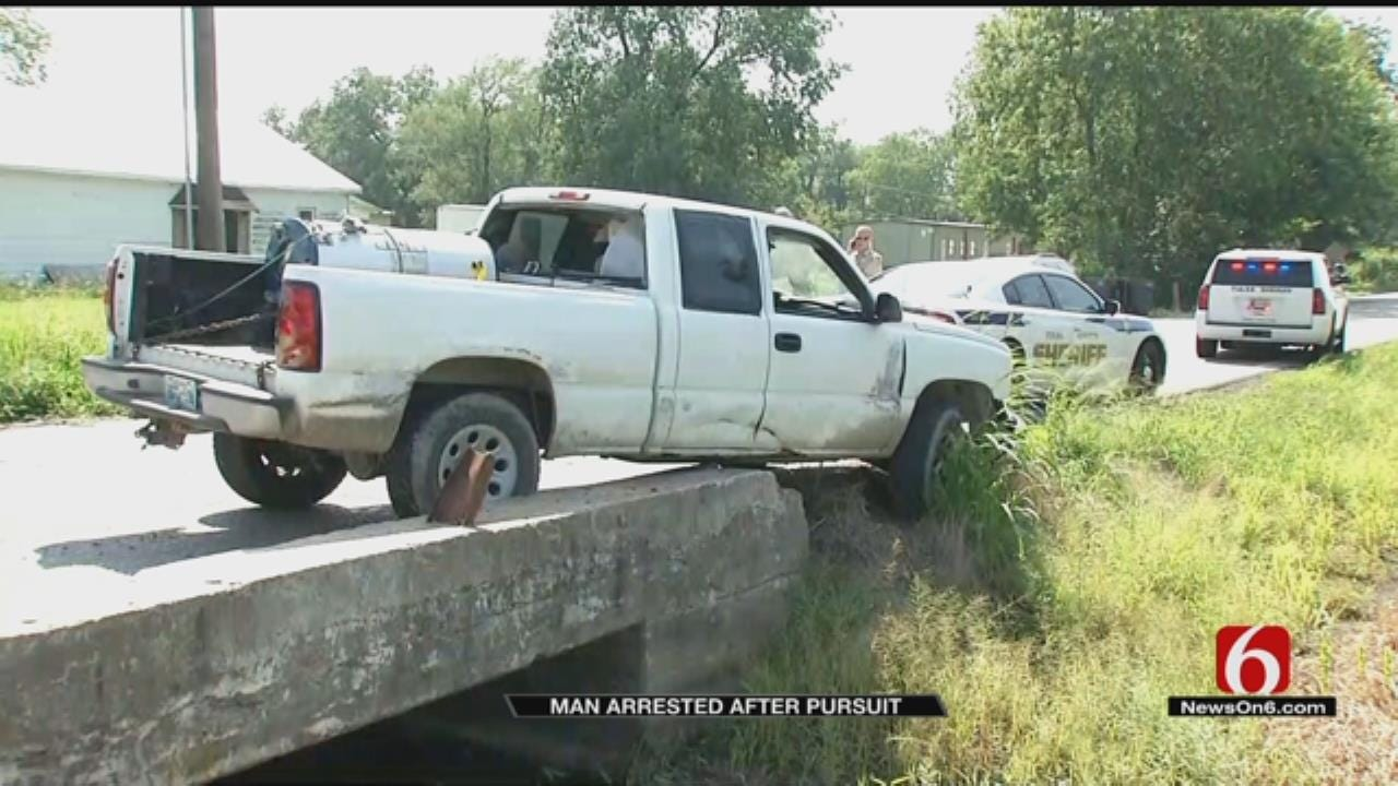 Tulsa Man In Jail After Police Chase