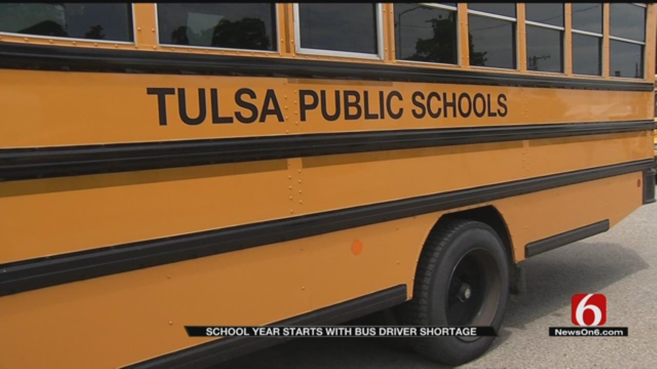 TPS Looking To Fill Bus Driver Shortage
