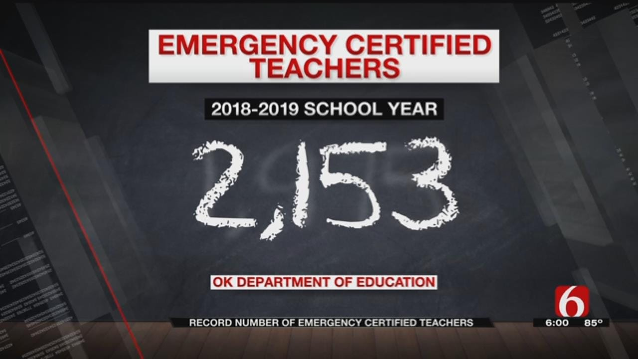 More Emergency Certified Teachers In Oklahoma Than Ever Before