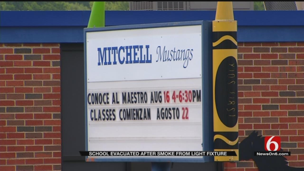 Tulsa Elementary Given All Clear After Smoke Spotted