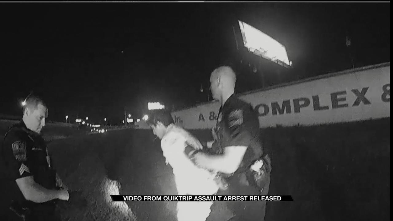 WATCH: Bodycam Video Shows Man Accused Of Assaulting Tulsa QuikTrip Clerks