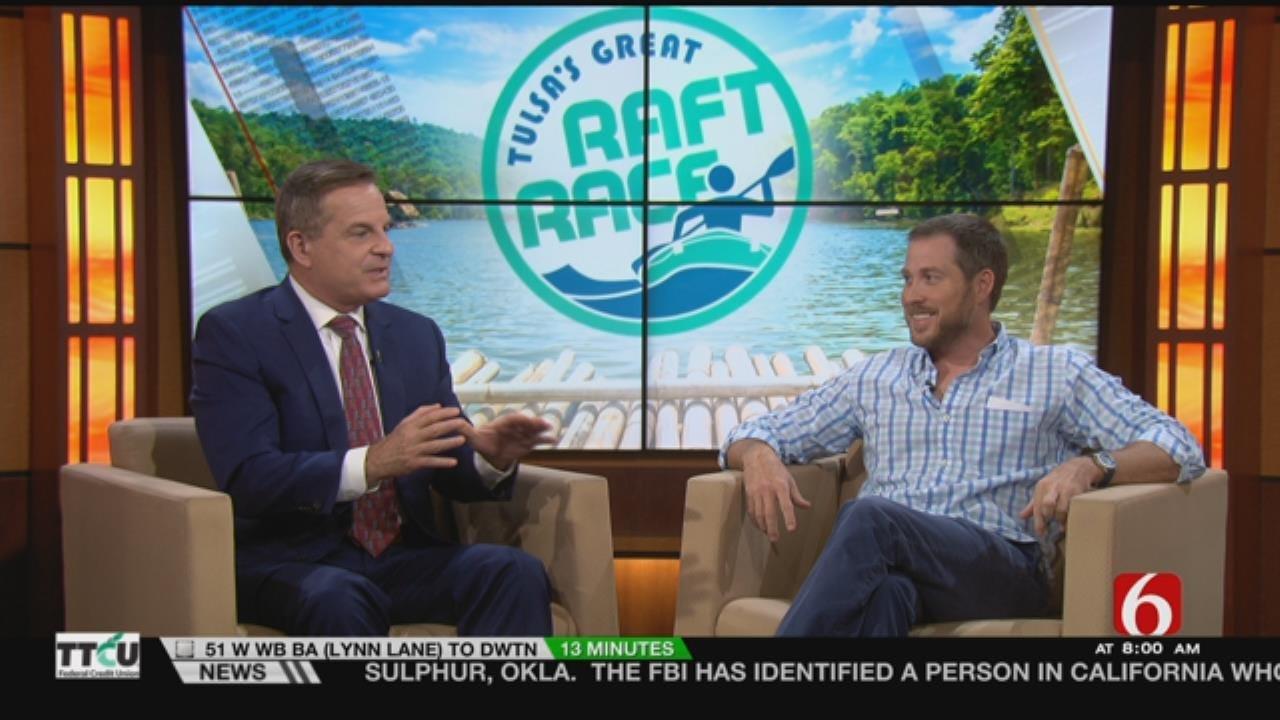Seth Erkenbeck Talks Tulsa's Great Raft Race On 6 In The Morning