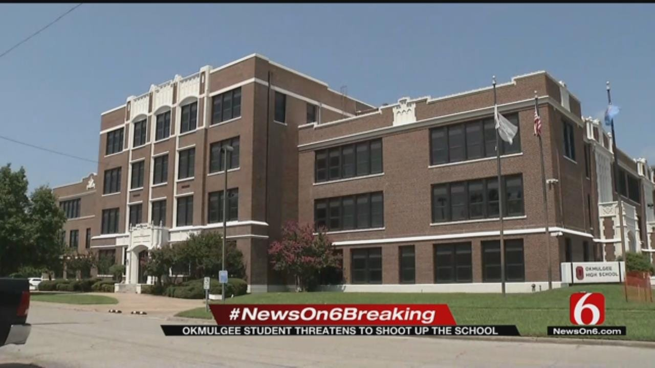 No Students In Danger After Threat At Okmulgee High School