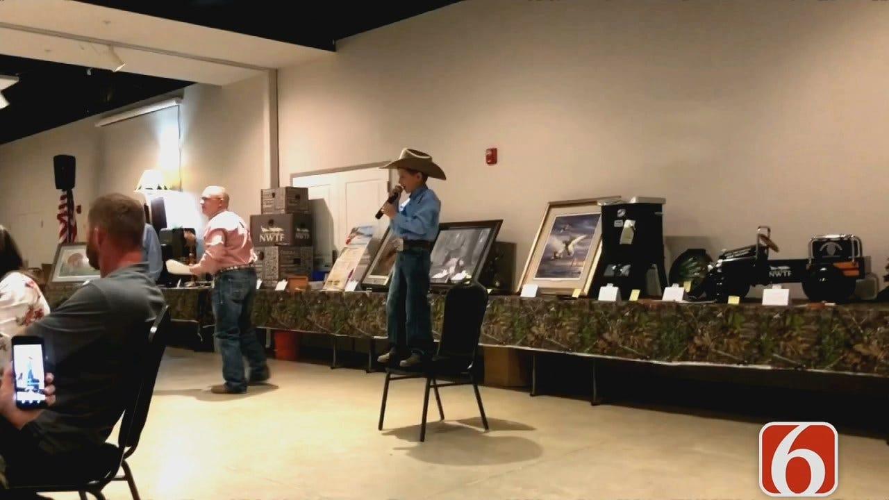 Tess Maune: 9-Year-Old Inola Boy Gets Scholarship For Auctioneer School
