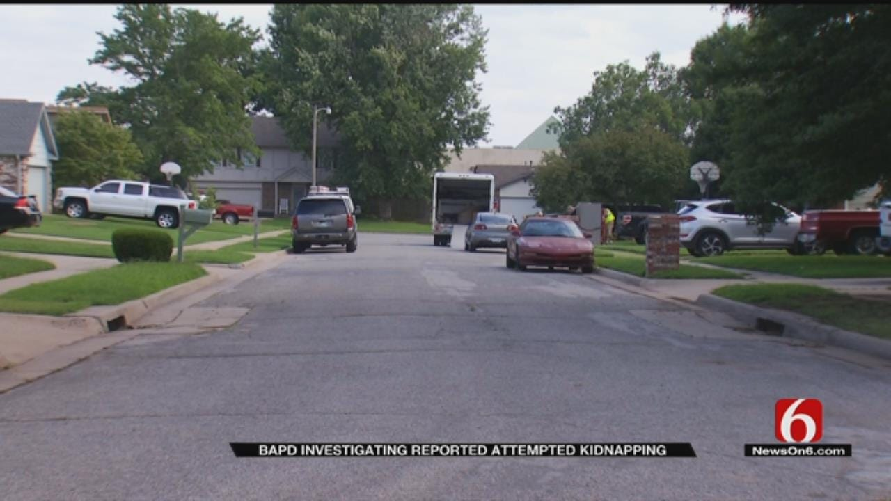 Broken Arrow Police Investigate Possible Kidnapping Attempt
