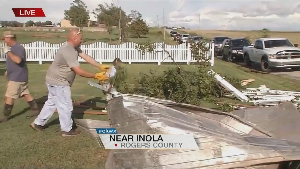 Tornadoes Spotted In Mayes And Rogers Counties