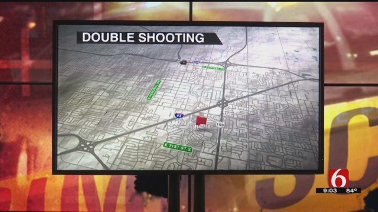 Tulsa Police Searching For Suspect In Double Shooting