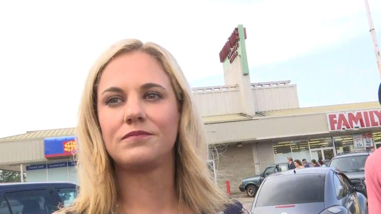 WEB EXTRA: Tulsa Police Officer Jeannie McKenzie On Dollar General Standoff