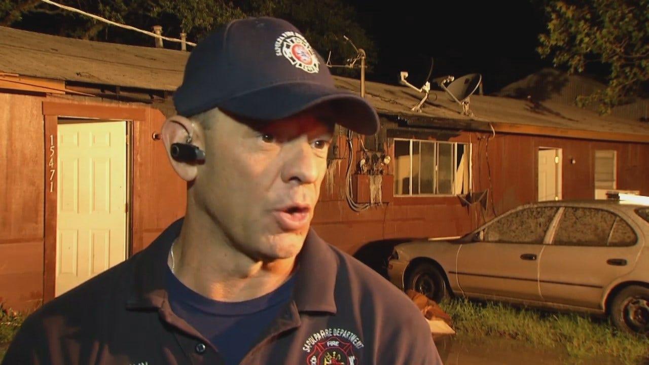 WEB EXTRA: Sapulpa Fire Captain Darren Inbody Talks About The Fire