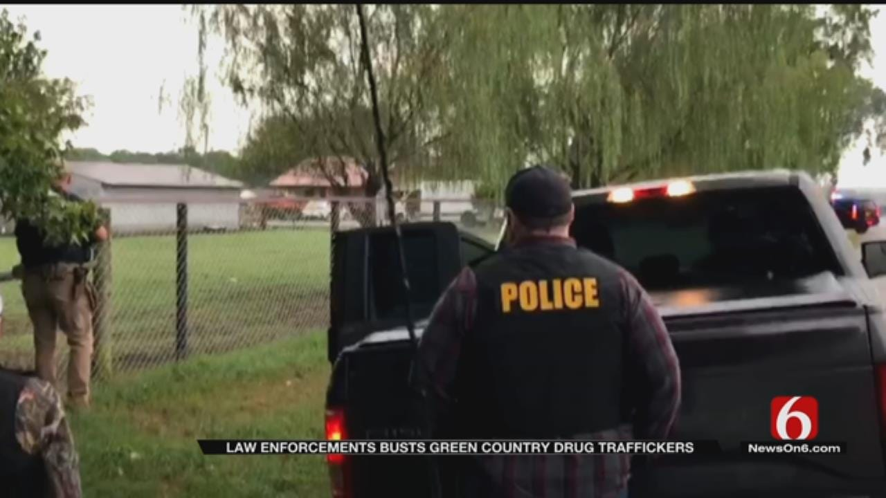 Oklahoma Drug Trafficking Ring Suspects Appear In Court