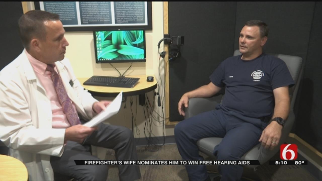 Deserving Broken Arrow Firefighter Receives Free Hearing Aids