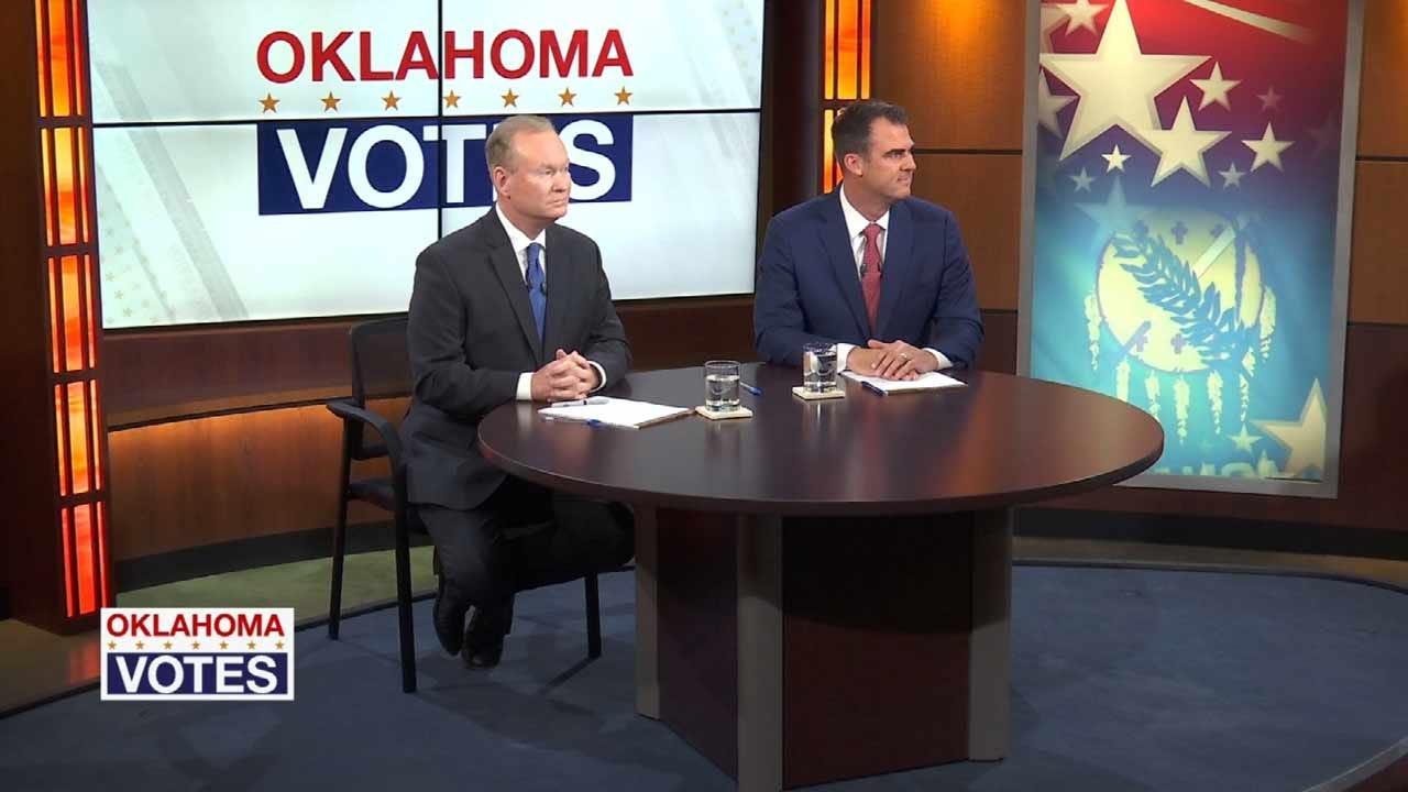 OK GOP Gubernatorial Candidates Argue Over Trump Support