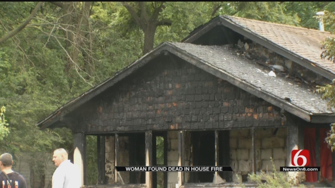 Woman Dead In Sapulpa House Fire