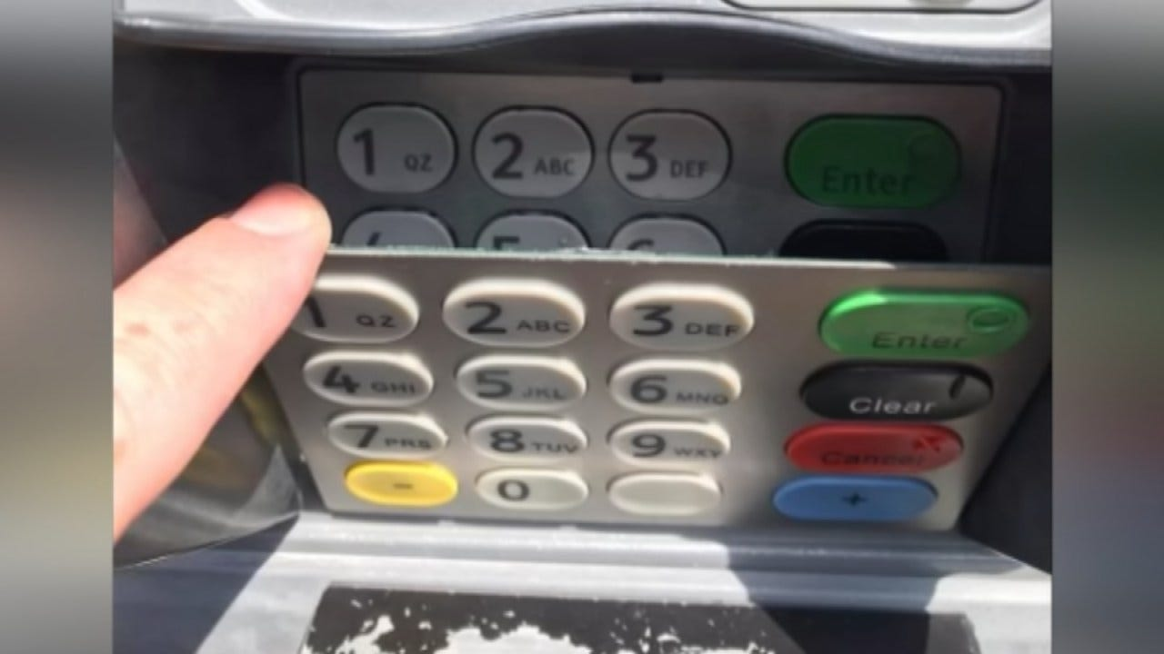 Skimming Device Found On ATM At Tulsa Hills