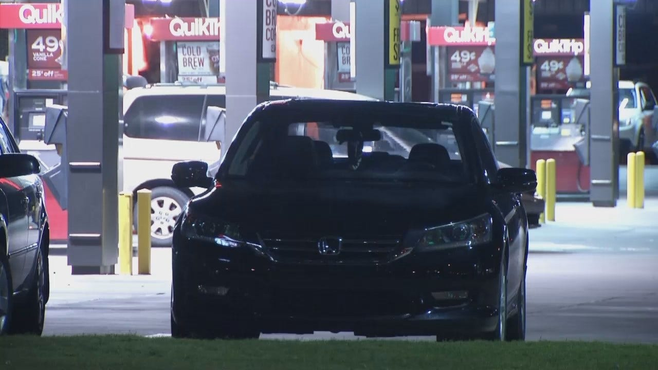 WEB EXTRA: Video From Scene Of Tulsa QuikTrip Robbery, Assault
