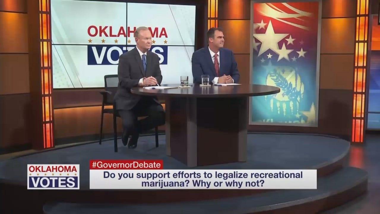 WEB EXTRA: GOP Governor Candidates On Recreational Marijuana