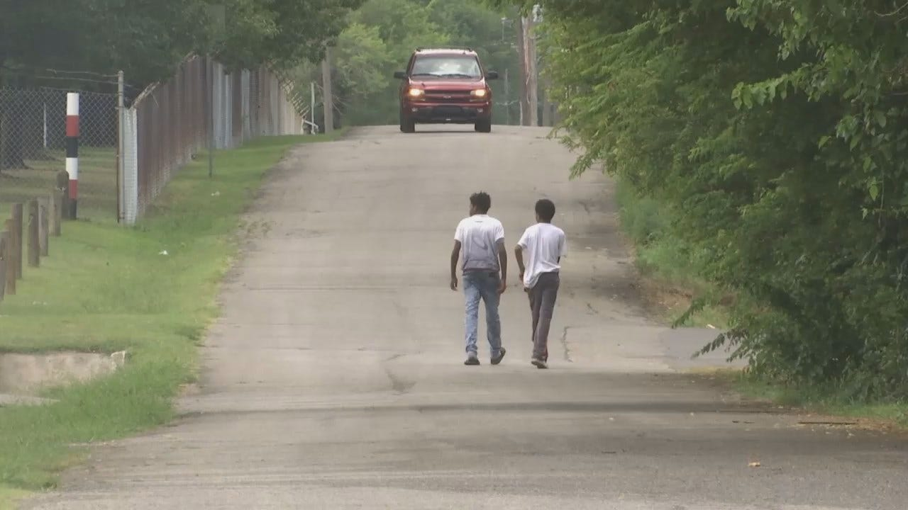 Projects Underway To Keep Tulsa Children Safe As They Walk To School