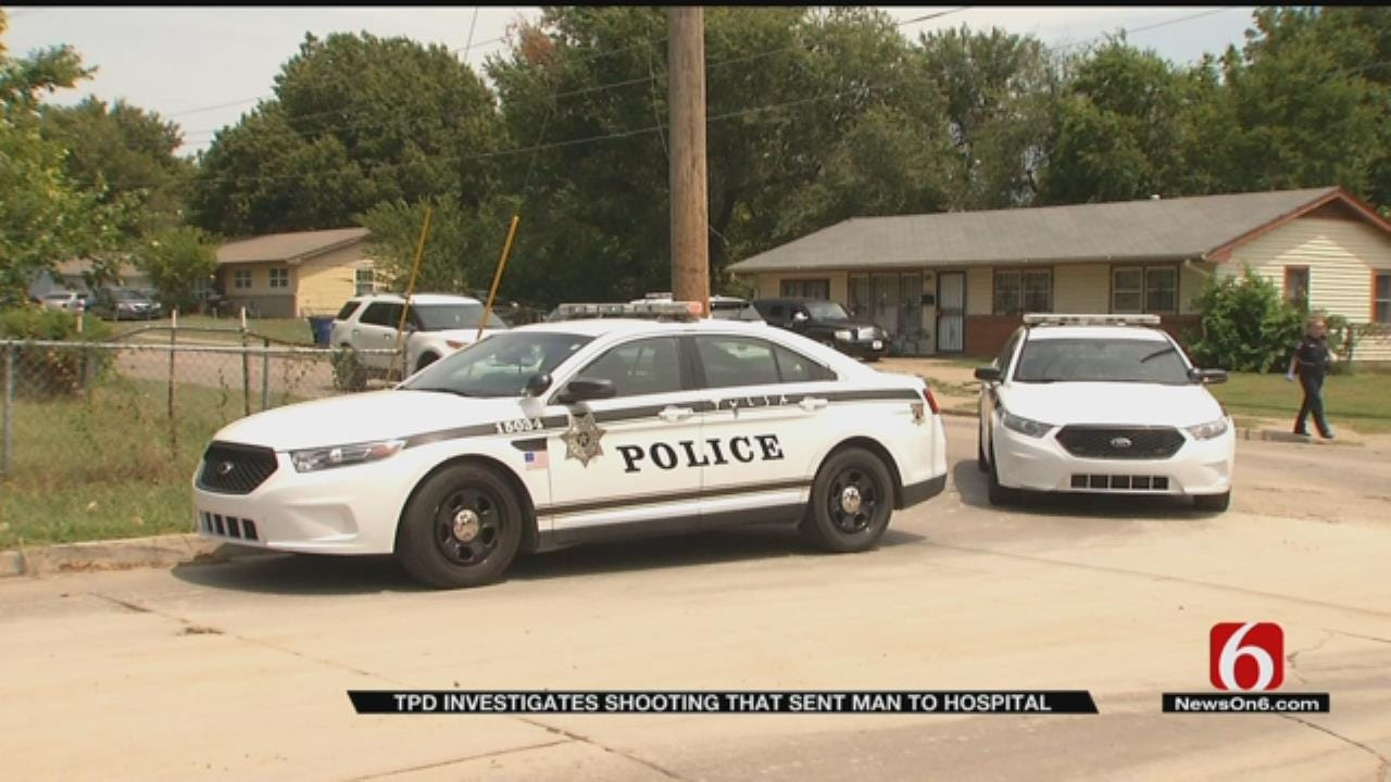 Tulsa Man Hospitalized After Shooting, TPD Investigating
