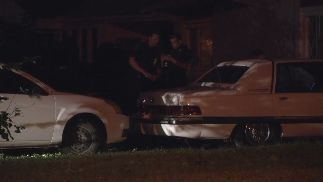 WEB EXTRA: Video From Scene Of Tulsa Home Invasion Shooting