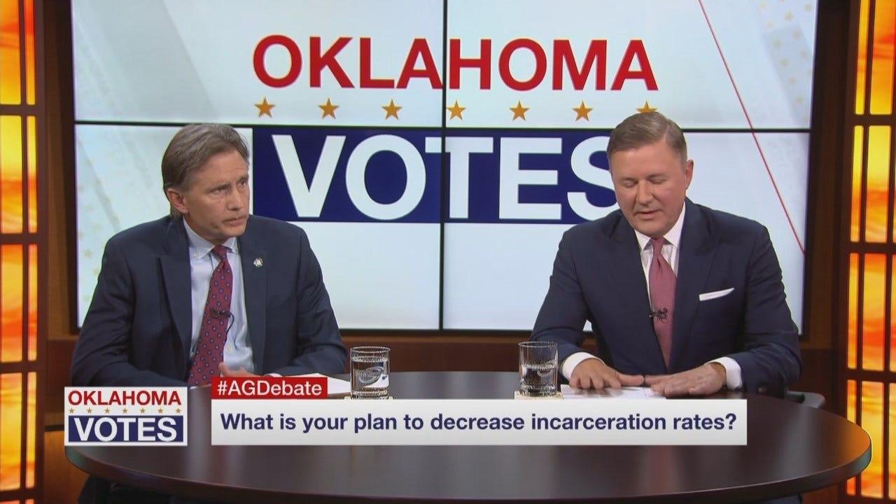 WEB EXTRA: OK GOP AT Debate: Oklahoma's Incarceration Rate