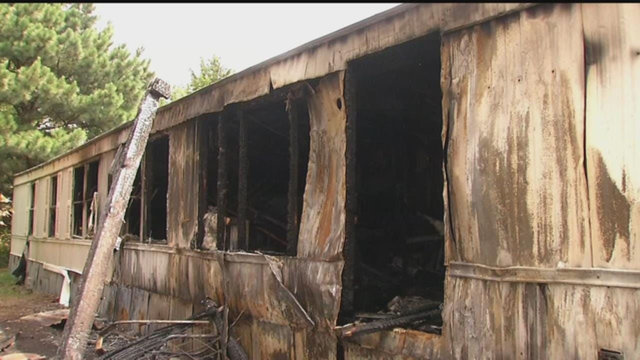 Fire Destroys Home Of Cancer Patient In Chelsea
