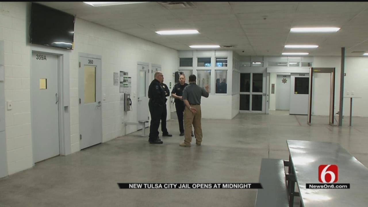 New Tulsa City Jail To Open At Midnight